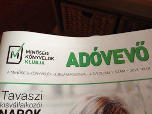 Adóvevő magazin